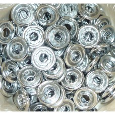 10mm KAM Open Ring Metal Snaps SINGLE PARTS