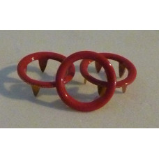 10mm KAM Open Ring Metal Snaps Coloured