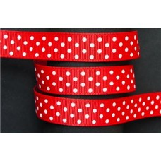 16mm Swiss Dot Grosgrain