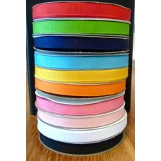 10mm Solid Grosgrain