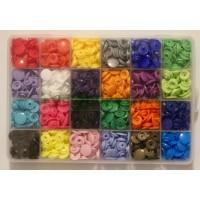 KAM Snaps Size 20 - Selection Boxes 24 Colours