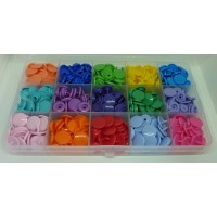 KAM Snaps Size 20 - Selection Boxes 15 Colours