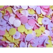 KAM Snaps Engraved Flowers - Size 20 LAST COUPLE REMAINING