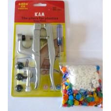 Multi Size KAM HG Resin Snap Pliers