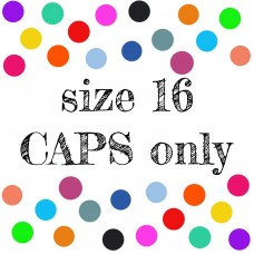 Size 16 Caps Only